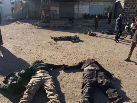 Резня в Дараа: ИГИЛ и боевик…