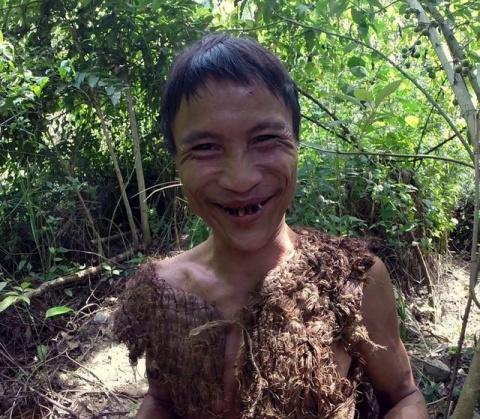 Вьетнамец 40 лет жил в лесу …