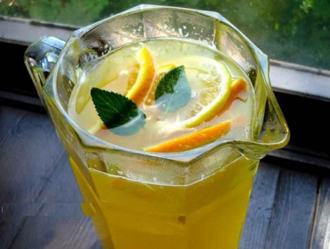 Освежающий домашний лимонад …