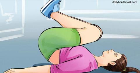 Делайте эту зарядку каждый день - и начнете худеть на 3 кило в неделю!