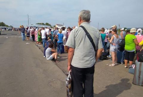 Украинские «патриоты» рвутся…