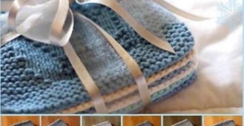 Теневое вязание: схемы зимни…