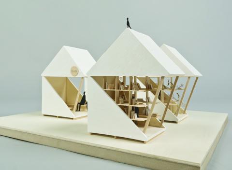 Pocket house-дома до и  после землетрясений