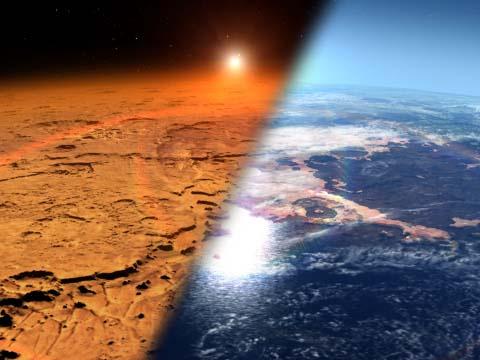 Марс оказался хорошо защищен…