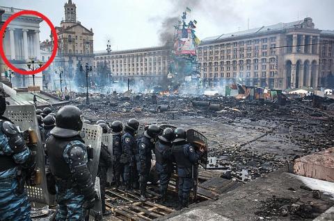 Еще один боевик Евромайдана …