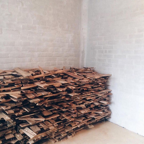 Этот дядечка всё лето собирал дрова: притащил целых 40 мешков! Теперь у него в доме аншлаг…