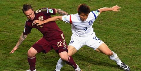 Сборная России ушла от поражения в стартовом матче ЧМ