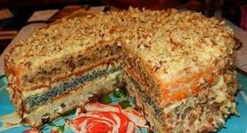"""Торт """"Виктория"""" и лимонное суфле"""