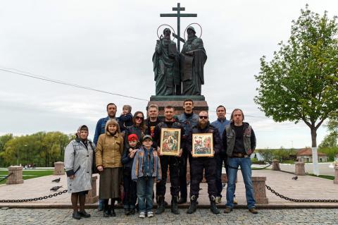 Паломничество «Монастырский круг» с мотоклубом «Ночные Волки». День 3 — Ново-Голутвин монастырь