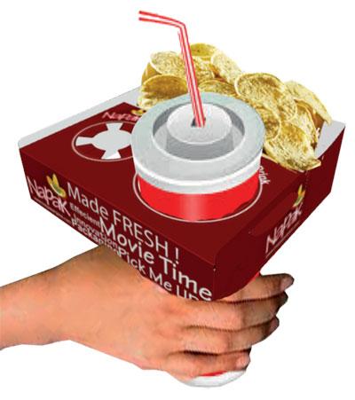 Поесть в кино