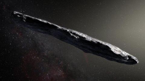 Астрономы обнаружили необычный сигарообразный астероид