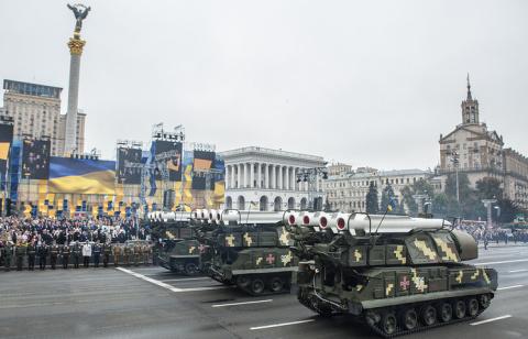 А Украина всё нарывается. Опять хотят сбить пассажирский самолёт