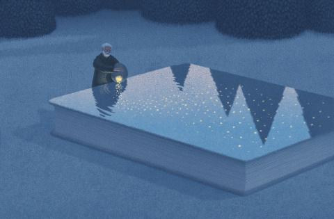 Сюрреалистичные картинки книголюбов