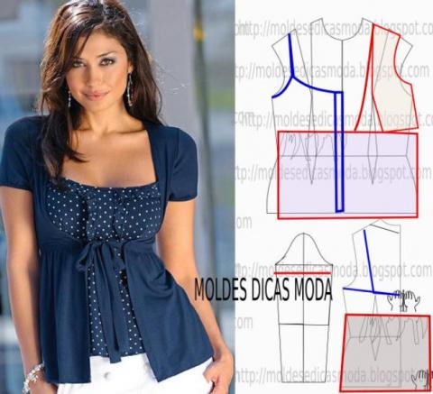 Подборка модных легких блузо…