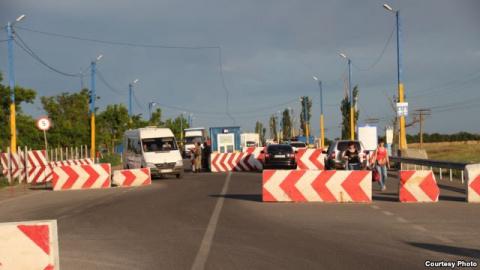 Украина собирается закрыть КПП на границе с Крымом