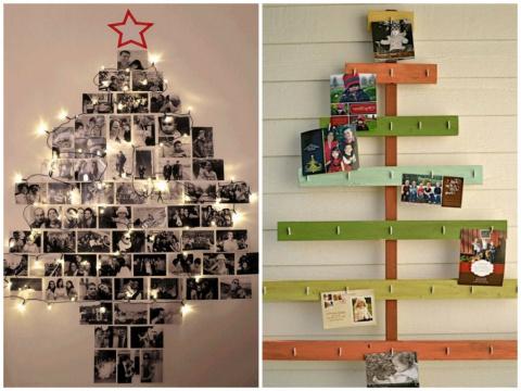 Когда хочется чего-то новенького —  новогодних елок, которые можно сделать, не выходя из дома