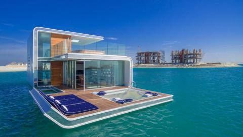 В Дубае строят эксклюзивные виллы с уникальными подводными видами из окон