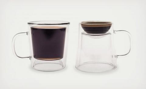 Двусторонняя чашка для кофе