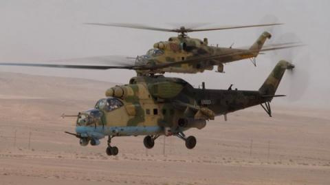 ВКС России и сирийская армия полностью зачистили Эль-Карьятейн и окрестности от боевиков ИГИЛ