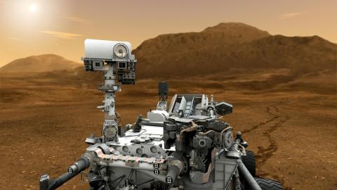 На Марсе замечен вооруженный…