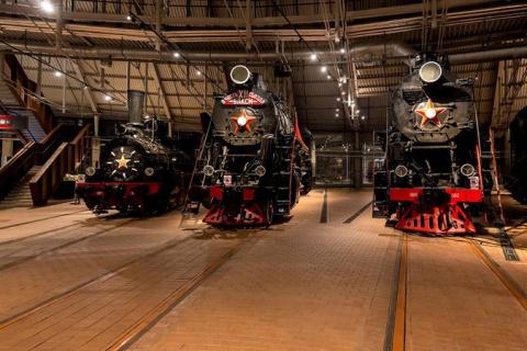 Фотопутешествие по музею железных дорог России