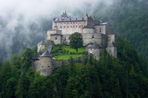 Замок Хоэнверфен, Австрия (Hohenwerfen Castle)