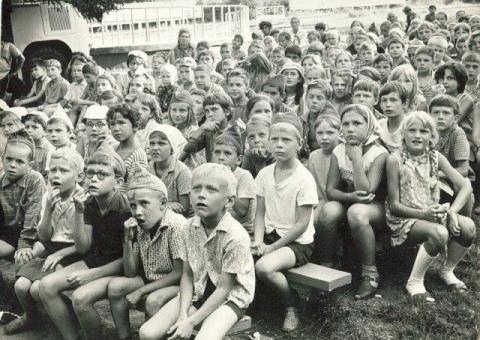 Это беззаботное советское детство...