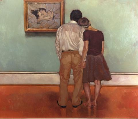 Человеческая нежность смелыми мазками на картинах Джозефа Лорассо
