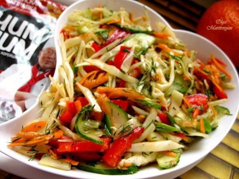 Овощной салат по-корейски с …