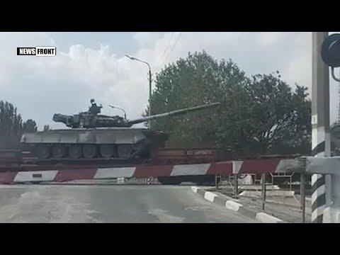 В Николаев сгоняется военная техника