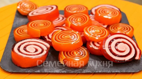 Мармеладные конфеты с маршмеллоу