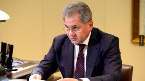 Сергей Шойгу поздравил военн…