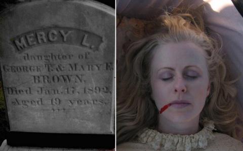 История «вампирши», которая наводит ужас на людей и сегодня