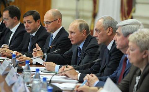 Владимир Путин не смог распо…
