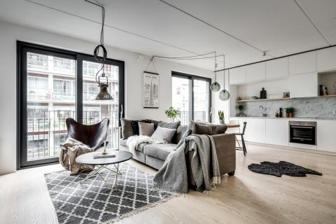 Стокгольмская квартира с соб…