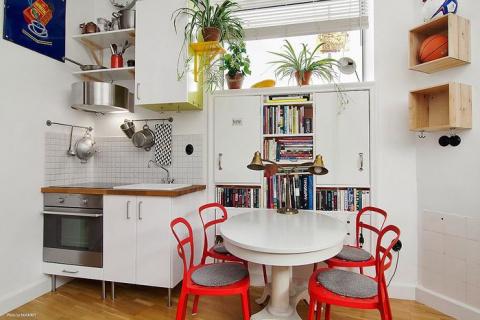 Уютная квартирка как доказательство — комфортная жизнь возможна и на 11-ти кв. метрах