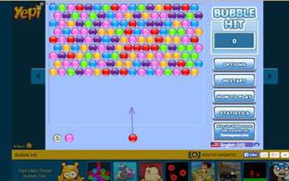 Игры. Bubble Hit (Парад пузырей)