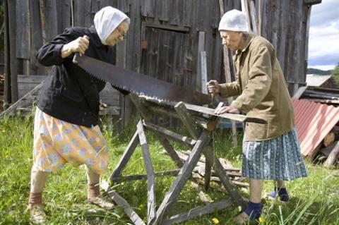 15 уникальных фотографий из жизни российской глубинки