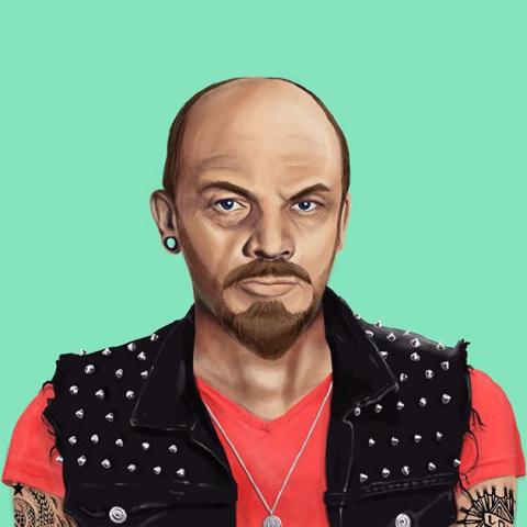 Hipstory: если бы Ленин, Мер…
