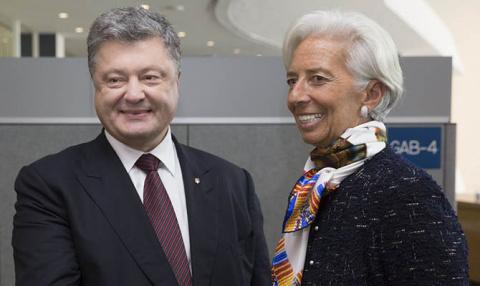 В Давосе у Порошенко будет важная встреча с главой МВФ