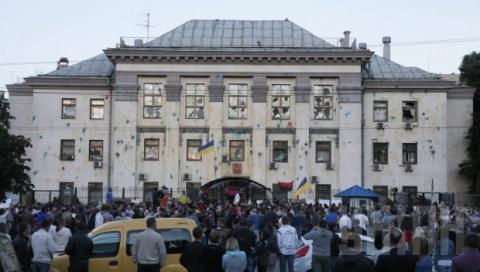 В Киеве завершился митинг у …