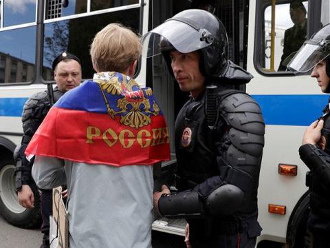 В Москве начались задержания…