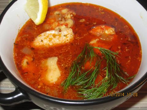 Необычный Рыбный суп