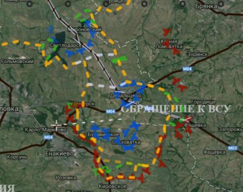 Дебальцовский котел с воьсмью тысячами военных Украины -  замкнут! Видео
