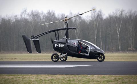 Обгон сверху. Какие летающие автомобили  можно поставить себе в гараж