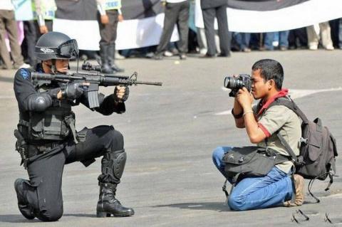 Фотограф - не простая профессия