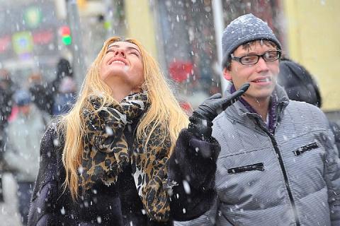Снегопад в Москве: пробки 6 баллов, метрополитен перешел на усиленный режим работы