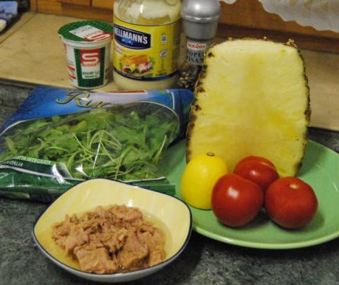 Тунец с ананасом. Фото-рецепт. Татьяна. Словения