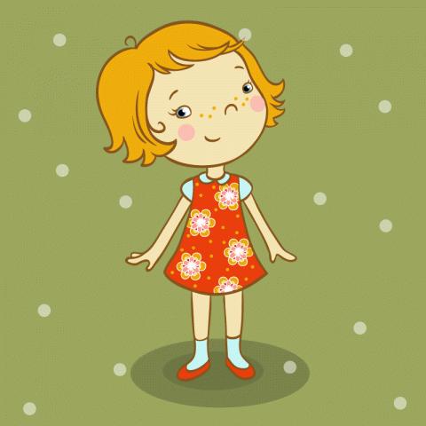Маленькая девочка приходит издетского сада исулыбкой сообщает маме новость