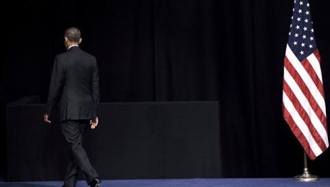 Президент США и его багровый закат